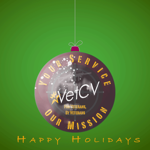 VetCV Happy Holidays