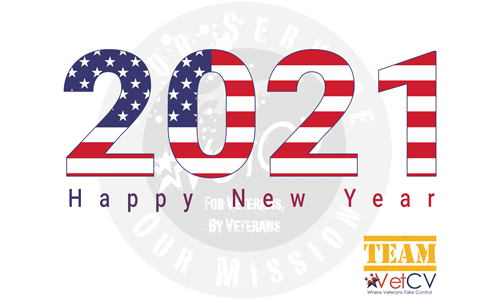 VetCV Happy New Year 2021