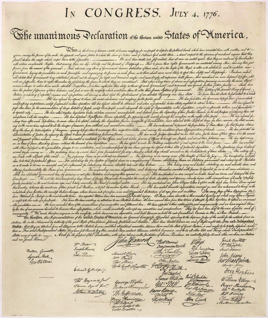 VetCV Declaration of Independence